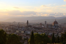 Florence, Italy from Piazzale Michelangelo